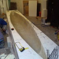 The canoe wants bulkheads!