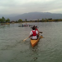 This is the first time in several years that our canoe has made it all the way to the last, coed race.