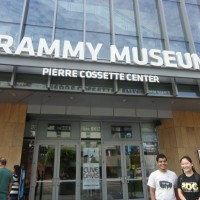 Several people took a trip to the Grammy Museum after the main part of the retreat.