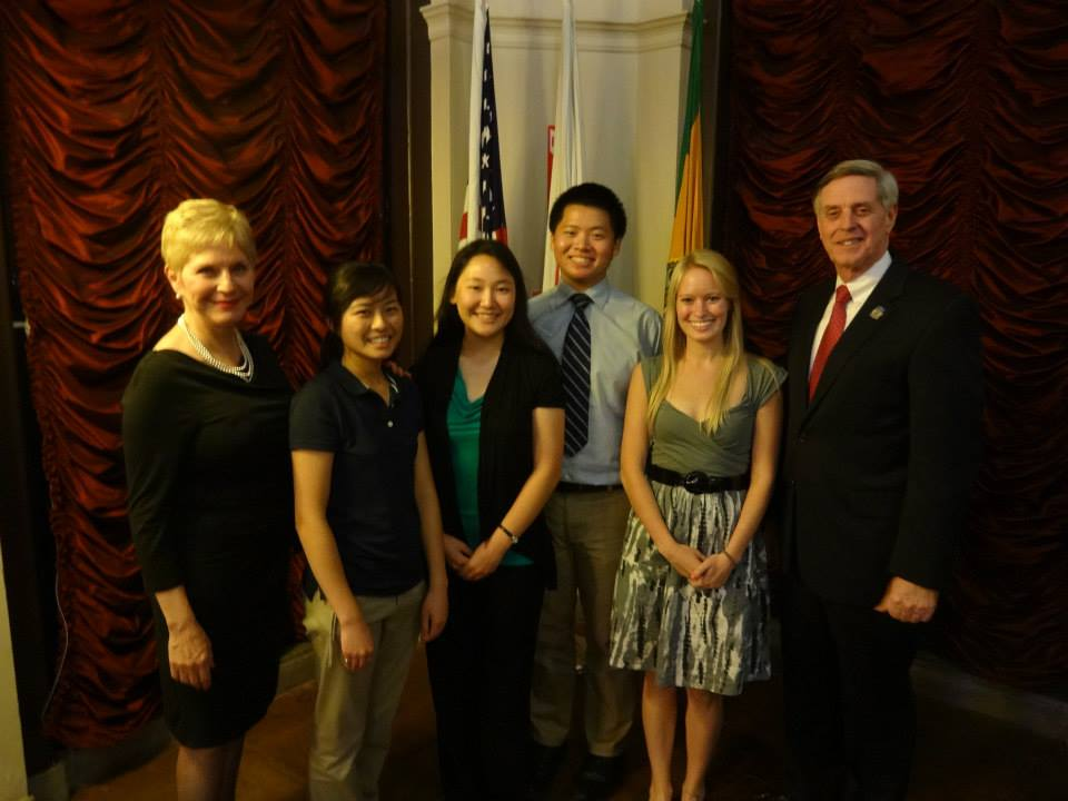 USC ASCE Members and ASCE Region 9 Governor Jay Higgins