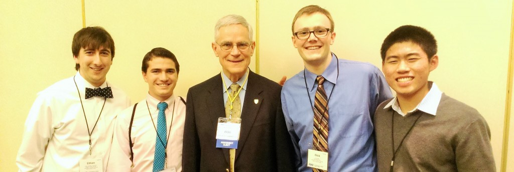 USC ASCE Members with ASCE President-Elect Robert Stevens