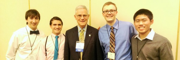 USC ASCE Representatives with ASCE President-elect Bob Stevens at the 2014 Workshop for Student Chapter Leaders in Phoenix, AZ.