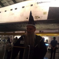 Phil found a wizard at the Endeavor and was converted into a junior wizard.