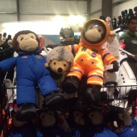 Phil found some astronaut friends.
