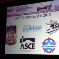 ASCE Metropolitan Los Angeles Branch celebrated it's 100th Anniversary in 2013!