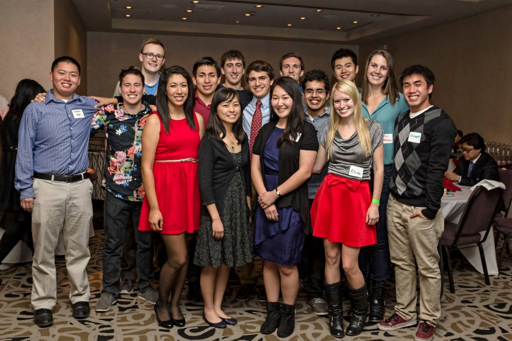 USC ASCE Members at the 2013 CEE Department Holiday Party