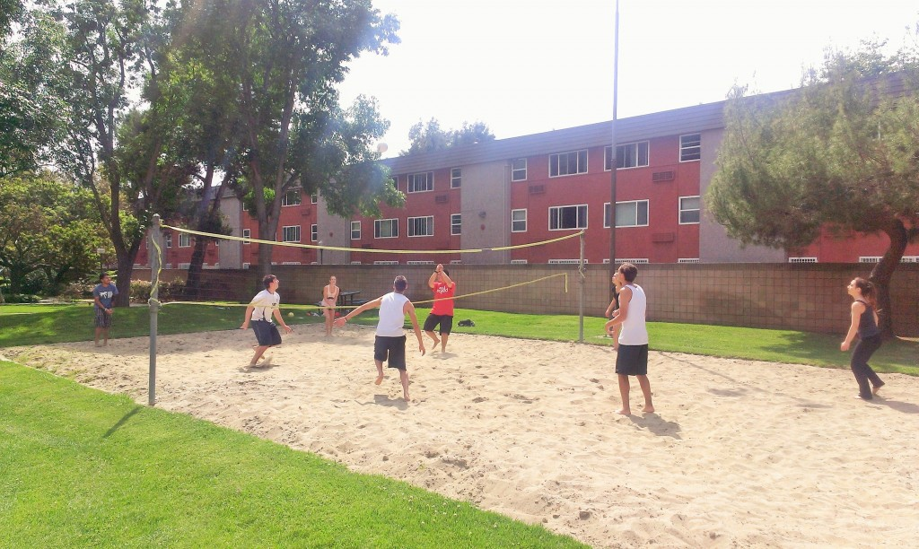 Volleyball Practice at PSWC Sports Day