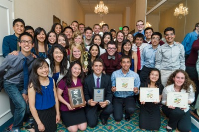 USC ASCE Pacific Southwest Conference 2014 team picture.