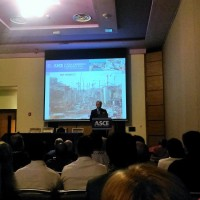 Break-out presentation on the construction of the 3rd set of locks of the Panama Canal