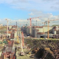 Panama Canal: 3rd set of locks construction