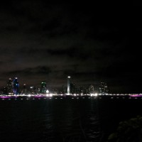 Night view of Panama City