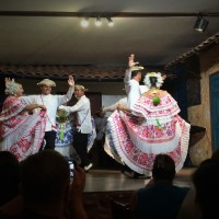 Local Culture Presentation at ASCE LA Section Dinner in Panama
