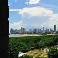 Antigua Panama: city view from historic tower