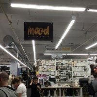 Mood fabric store, as featured on Project Runway.