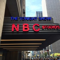 NBC Studios at the Rockefeller Center.