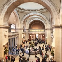 Metropolitan Museum of Art - main lobby.