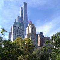 High-rises from Central Park.