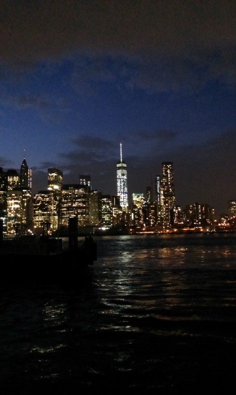 Manhattan from Brooklyn Bridge Park.