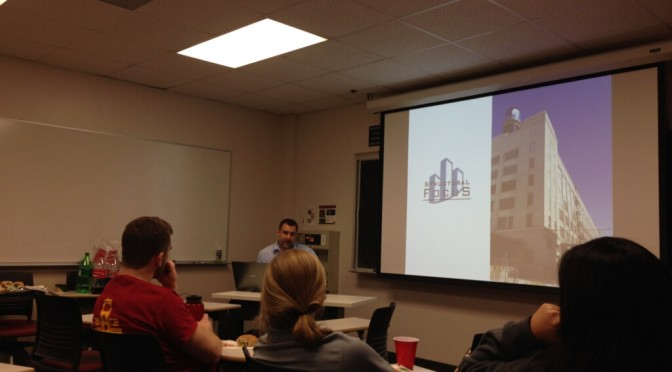Structural Focus Guest Speaker Visits ASCE
