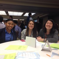 Lucy, Jennifer, and Emmy at the Region 9 breakout session