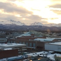 Sunrise in Anchorage